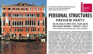 Venice Biennale 2013, Personal Structures