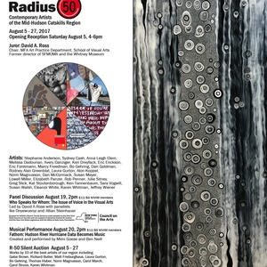 Radius 50, Juror David A. Ross, Woodstock Artists Association and Museum